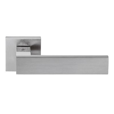 Дверная ручка Colombo ALBA LC91R хром матовый/хром