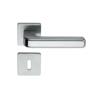 Дверная ручка Colombo TECNO MO11R хром матовый/хром
