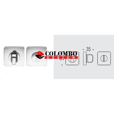 Фиксатор сантехнический Colombo Rosetta PT19 BZG черный матовый