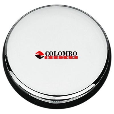 Накладка под цилиндр Colombo Rosetta CD63 GB хром