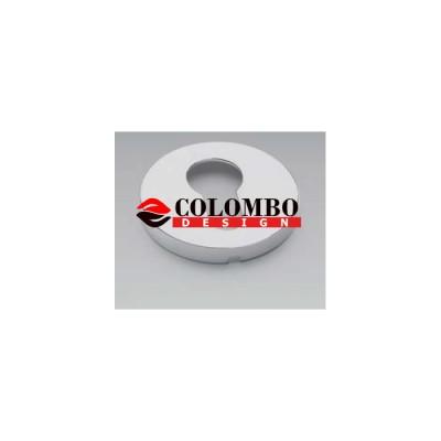 Накладка под цилиндр Colombo Rosetta FF13 хром матовый