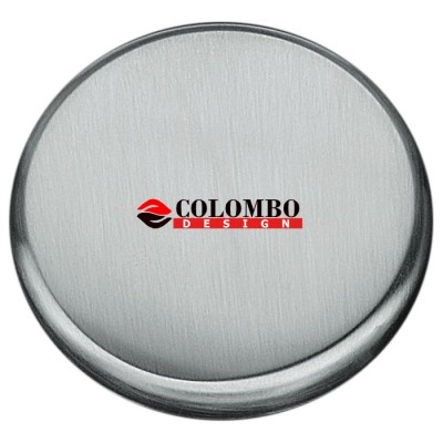 Накладка под цилиндр Colombo Rosetta CD63 GB хром матовый