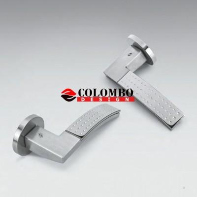 Дверная ручка Colombo TRAMA LC81R хром матовый/хром