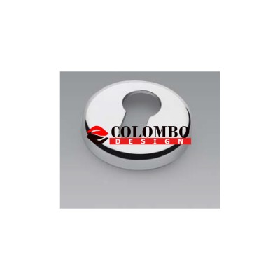 Накладка под цилиндр Colombo Rosetta CD63 GB никель матовый