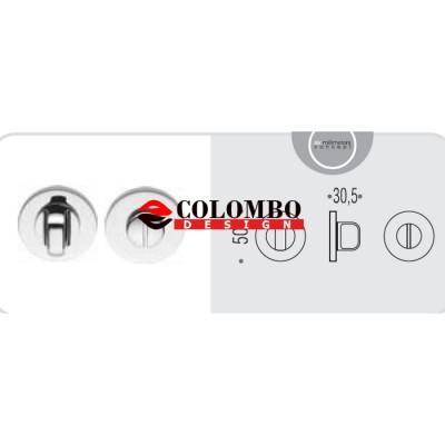 Фиксатор сантехнический Colombo Rosetta FF19 BZG хром матовый