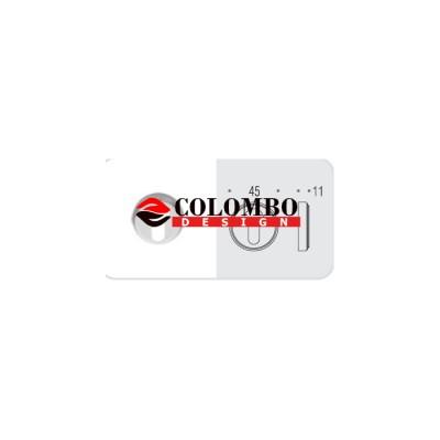 Накладка под цилиндр Colombo Rosetta CD1003 бронза