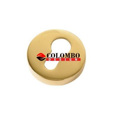 Накладка под цилиндр Colombo Rosetta CD43 GB золото