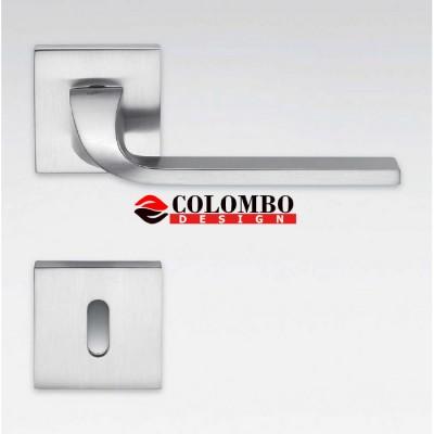 Дверная ручка Colombo ISY BL11R хром матовый