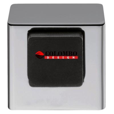 Ограничитель дверной Colombo LC112 хром матовый