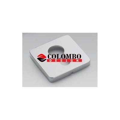 Дверная ручка Colombo ESPRIT BT11RY хром матовый