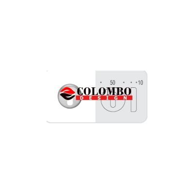 Накладка под цилиндр Colombo Rosetta CD63 GB золото матовое