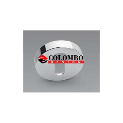 Накладка под цилиндр Colombo Rosetta CD43 GB хром