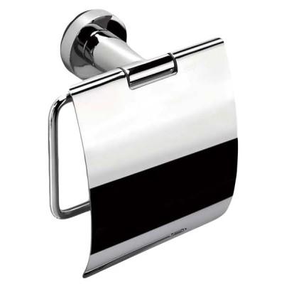 Держатель туалетной бумаги COLOMBO DESIGN BASIC B2791 с крышкой